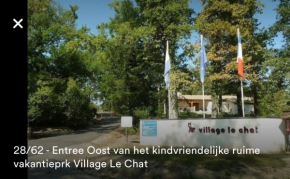 6 pers 4sterren bungalow op familiepark Le Chat