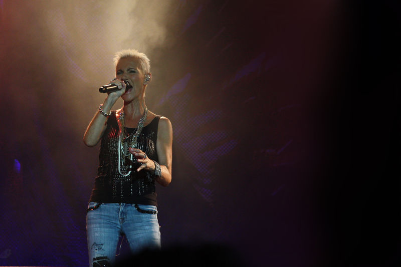 Concert of Swedish pop-rock band Roxette
